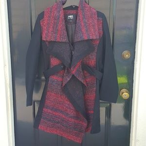 NWOT Gorgeous Red ABS Coat